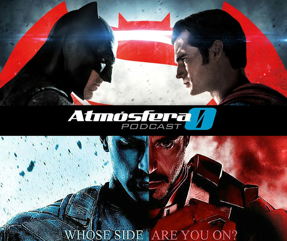 Batman vs Superman vs Iron Man vs Capitán América vs Zombis