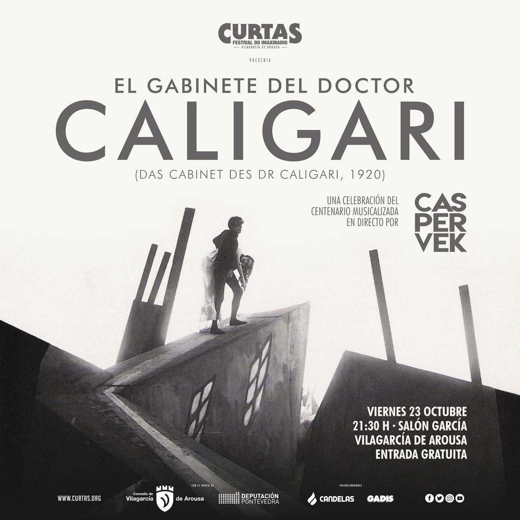 El Gabinete del Dr. Caligari, homenajeado en CURTAS, Festival do imaxinario