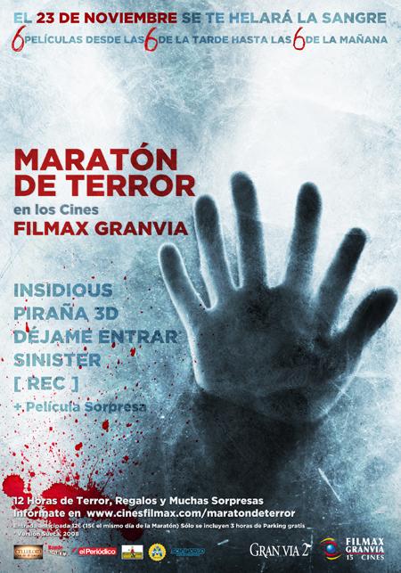 Maraton de Terros Filmax GranVia