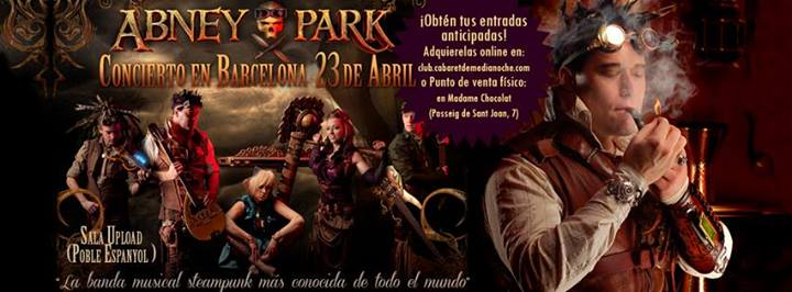 Banda steampunk Abney Park