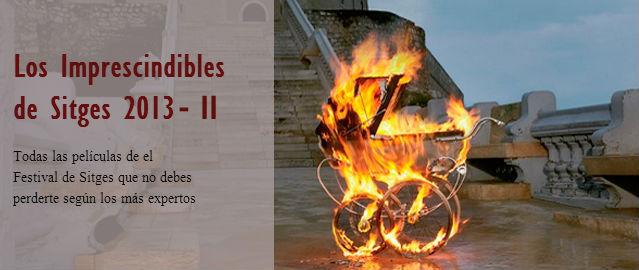 Películas imprescindibles festival de Sitges 2013