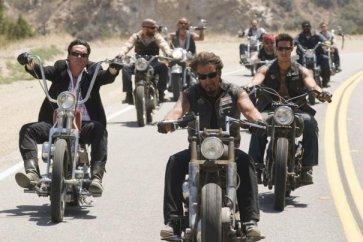 Toda la tropa de Hell Ride