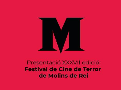 Presentación del festival de cine de terror de molins de rei