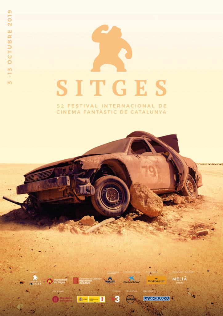 cartel de Sitges 2019 dedicada a Mad Max