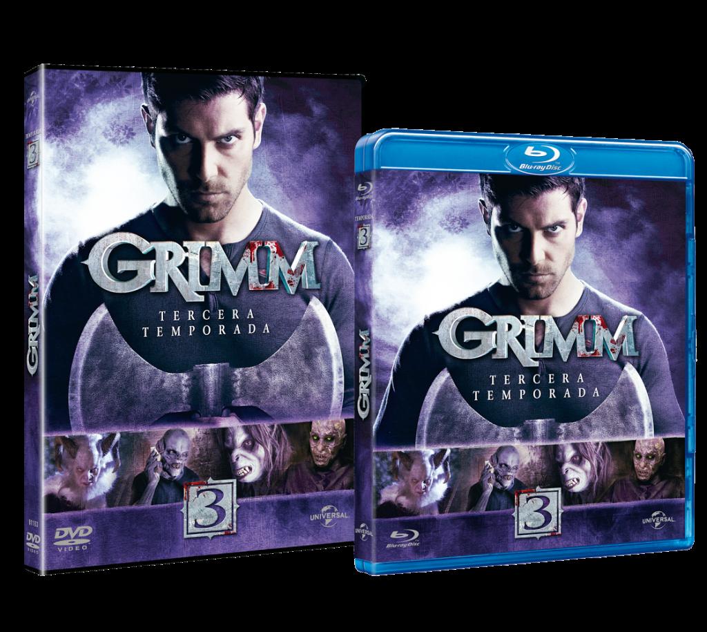 Grimm Blu-Ray temporada 3